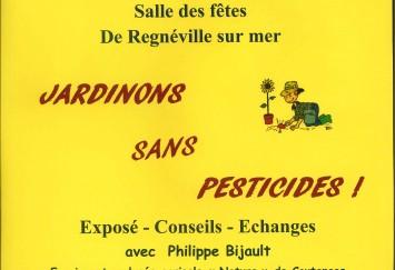 JARDINONS SANS PESTICIDES !