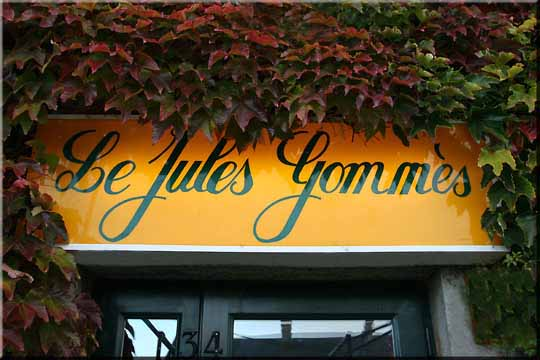 Bar Restaurant : Le Jules Gommès